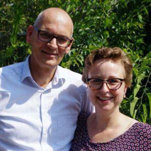 Pieter en Sandra