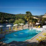 zwembad bij chambres d'hotes les Magnolias
